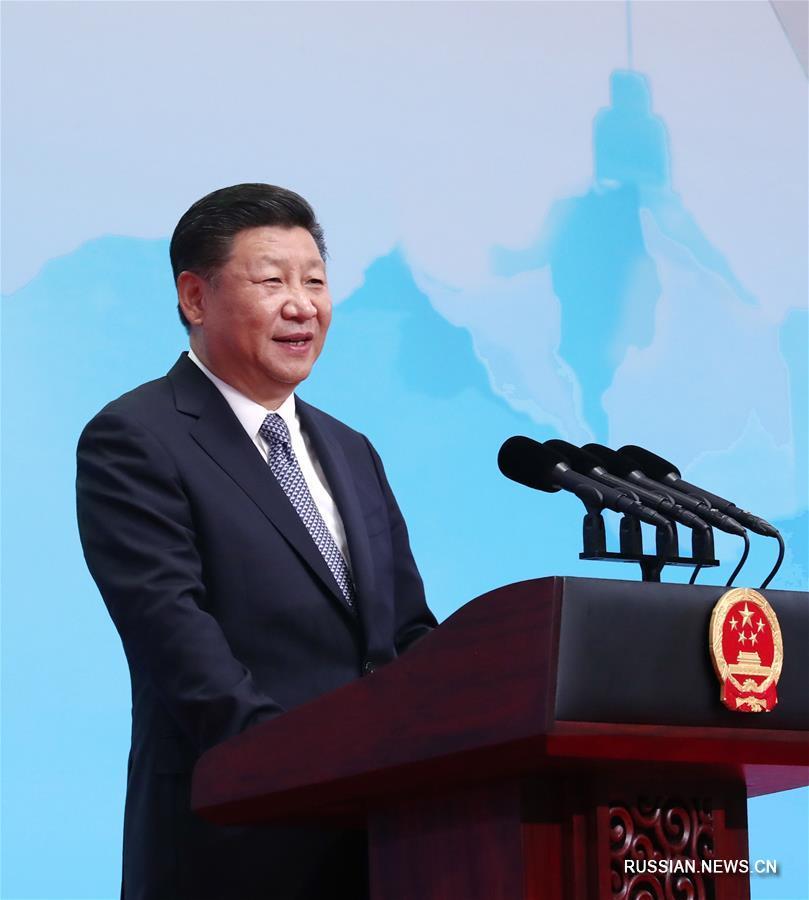 Си Цзиньпин выступил на церемонии открытия бизнес-форума БРИКС в Сямэне