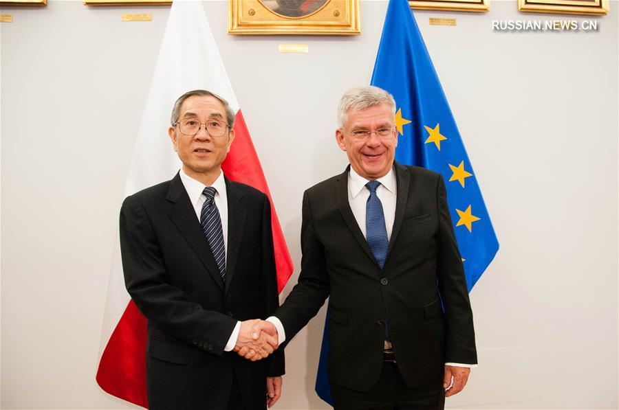 (XHDW)全国政协副主席、和裁会副会长马飚访问波兰