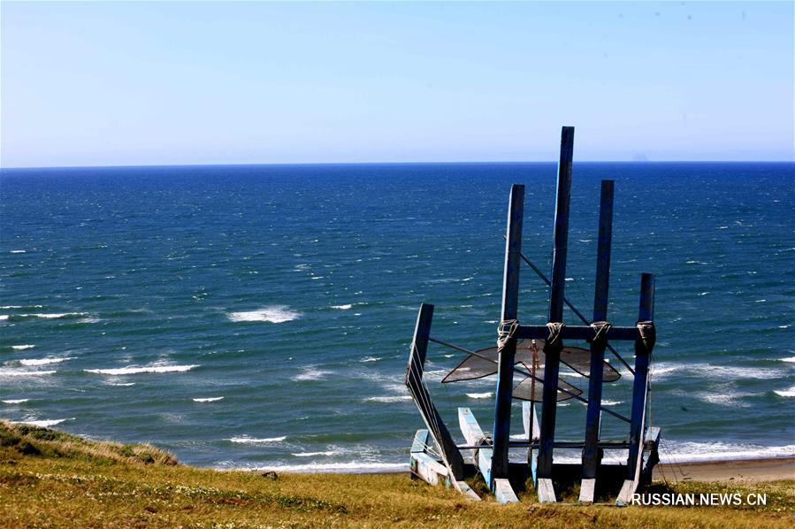"""Китайское судно """"Тяньцзянь"""" вошло в Берингов пролив"""