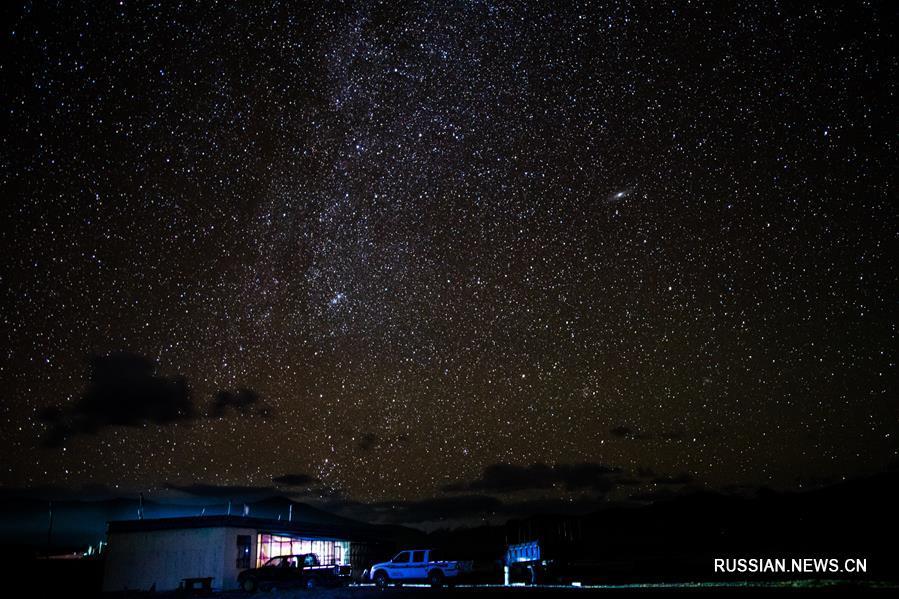 Звездное небо над Тибетом