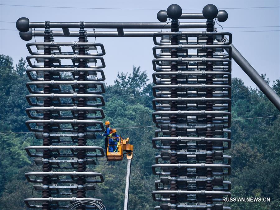 Первая ежегодная проверка ЛЭП постоянного тока Линчжоу -- Шаосин успешно стартовала