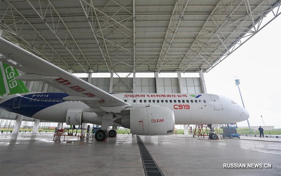 Китайские авиастроители получили 130 новых заказов на лайнер C919