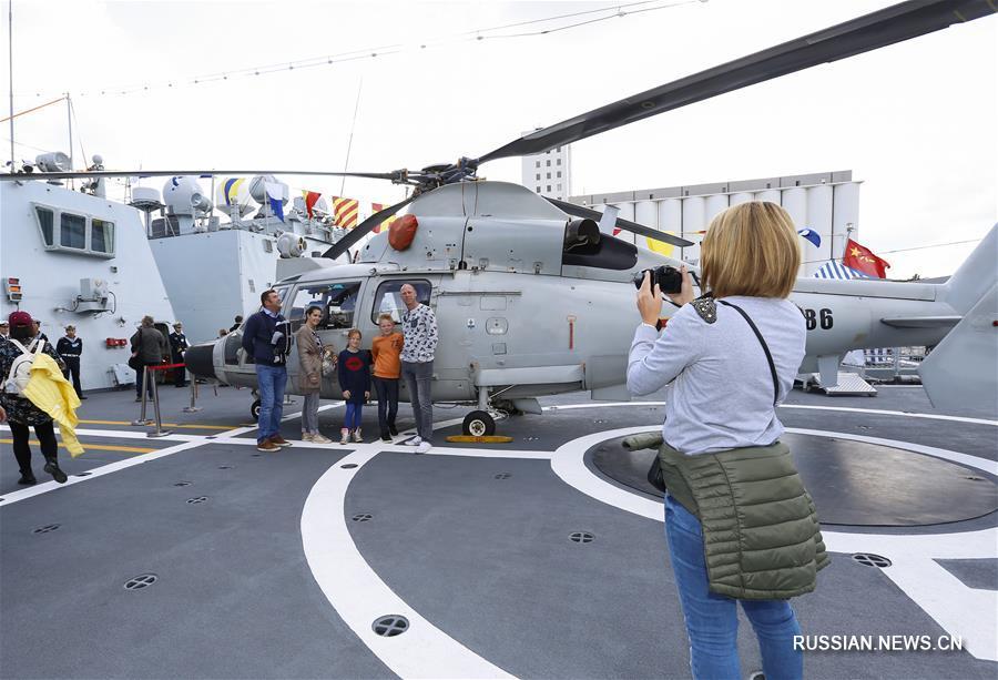 Визит кораблей ВМС НОАК в Бельгию