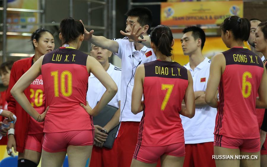 Волейбол -- Чемпионат мира -- 2018: женская сборная Китая разгромила команду Фиджи