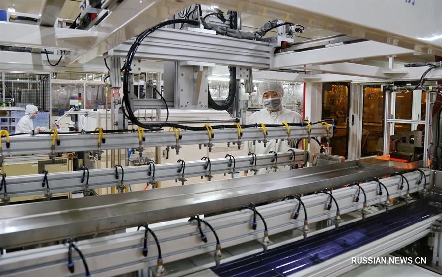 Развитие индустрии солнечных панелей в уезде Нинцзинь провинции Хэбэй