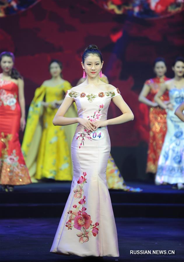 """Национальный финал конкурса """"Мисс Интернешнл"""" прошел в Китае"""