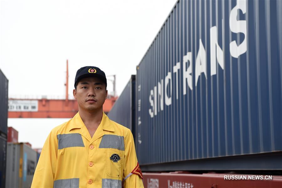 Первый регулярный грузовой поезд отправился из Чунцина по Южному железнодорожно-морскому транспортному коридору