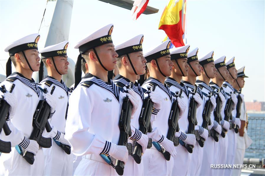 26-й конвойный отряд кораблей ВМС НОАК прибыл в Данию с дружественным визитом