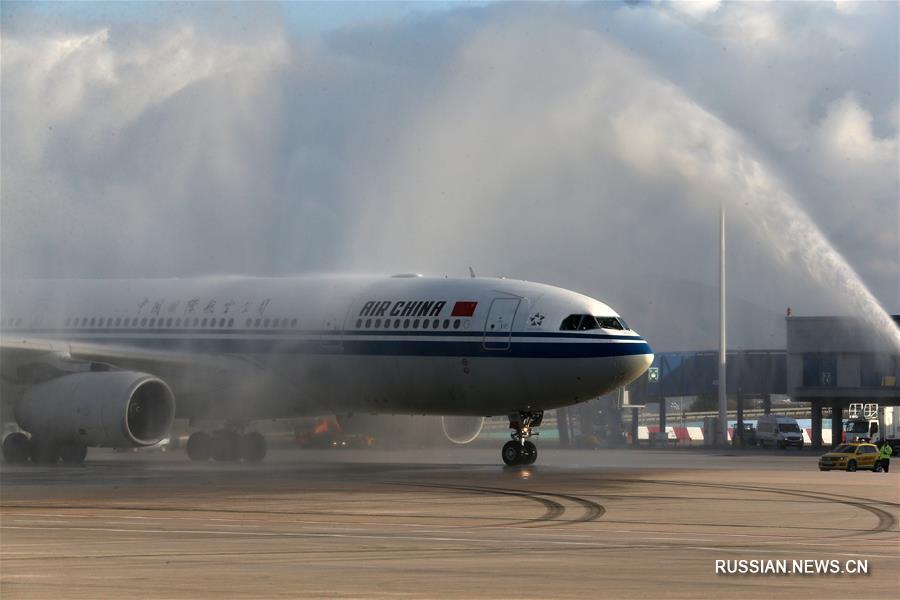 Открыт прямой авиамаршрут Пекин - Афины