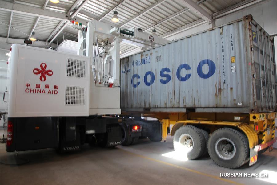 Китай передал в дар Монголии оборудование для таможенного досмотра