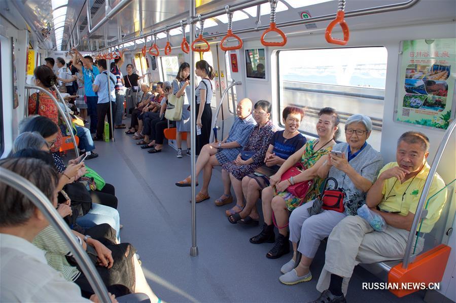 В Сямэне завершена тестовая эксплуатация 1-й линии метрополитена