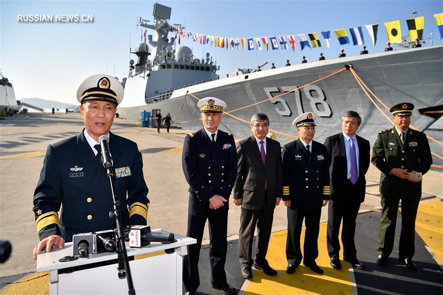 (国际)(4)中国海军第二十六批护航编队访问法国