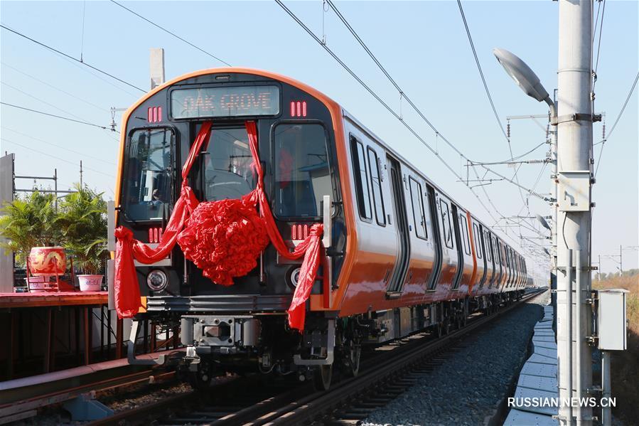 В Чанчуне собраны первые вагоны для метро Бостона