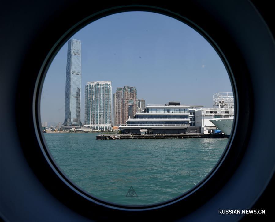 В порту Сянгана открылась новая смотровая площадка