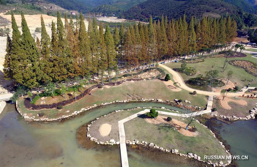 Экологический агрокомплекс в поселке Вэйминь