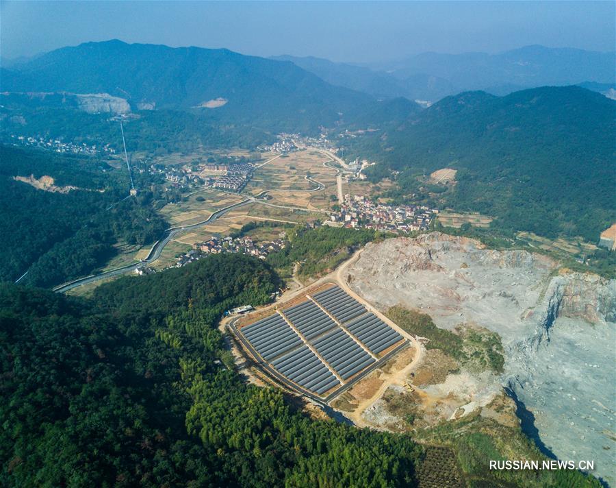 Развитие экологически чистых производств на месте бывших горных выработок