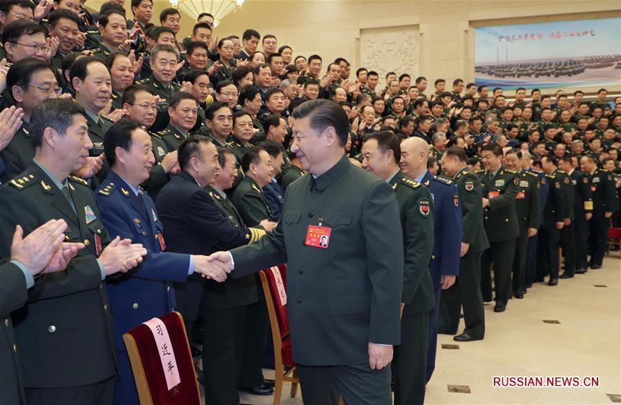 Си Цзиньпин принял участие в совещании высшего командного состава ВС Китая