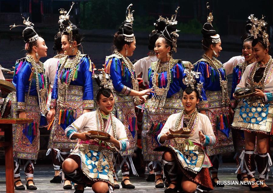 На Шанхайском международном фестивале искусств открылась Неделя культуры провинции Гуйчжоу