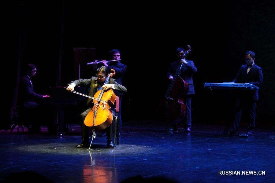 Китайская труппа артистов-инвалидов выступила в Праге