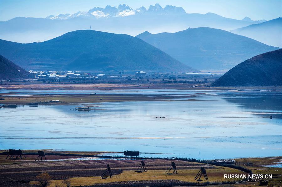 """""""Зеленый щит"""" на северо-западе провинции Юньнань"""