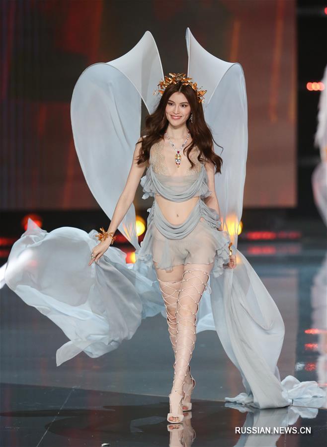 Шоу Victoria's Secret 2017 в Шанхае