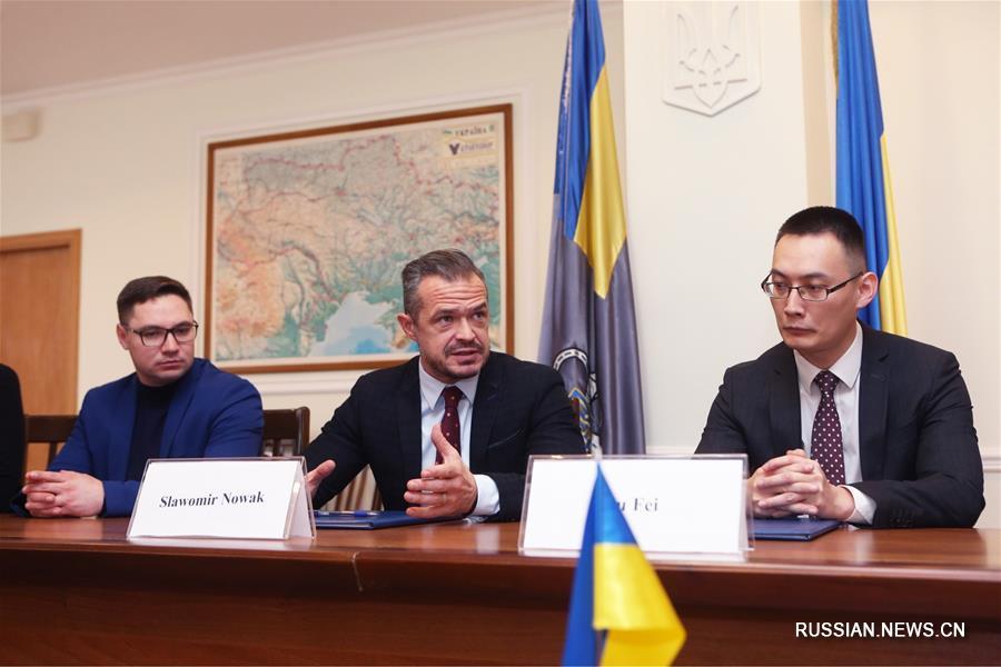 Украина подписала контракт с китайской компанией на ремонт важной автотрассы