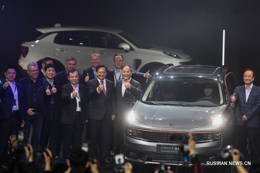 (经济)(3)吉利与沃尔沃合资品牌汽车领克01正式上市