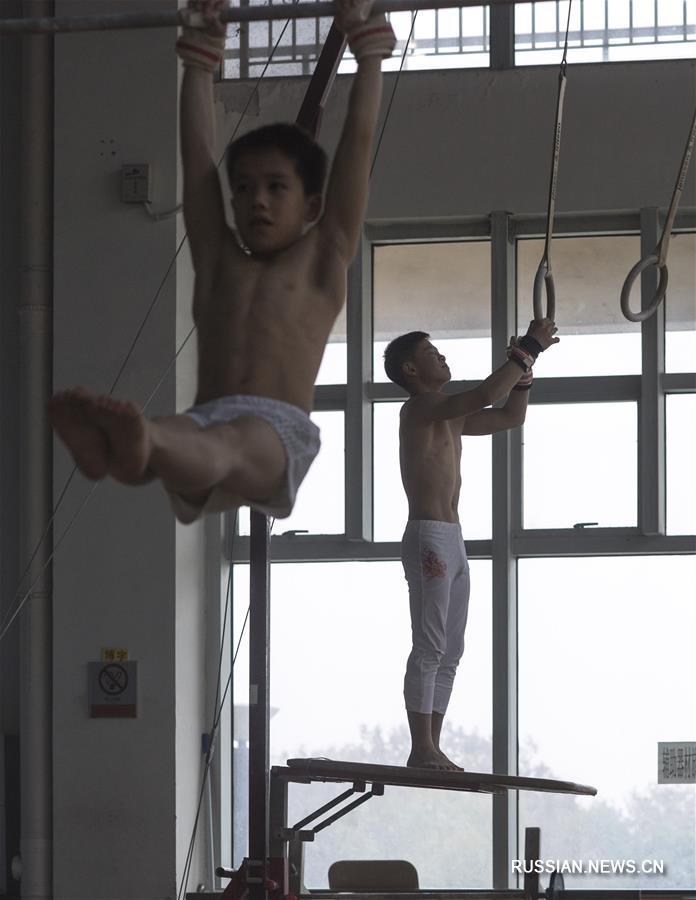 Спортивная гимнастика -- В провинции Хубэй открылся 10-дневный тренировочный лагерь для китайских резервистов