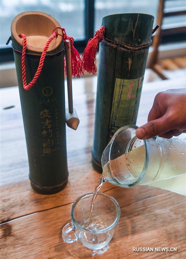 Развитие экологически чистого бамбукового производства в уезде Аньцзи