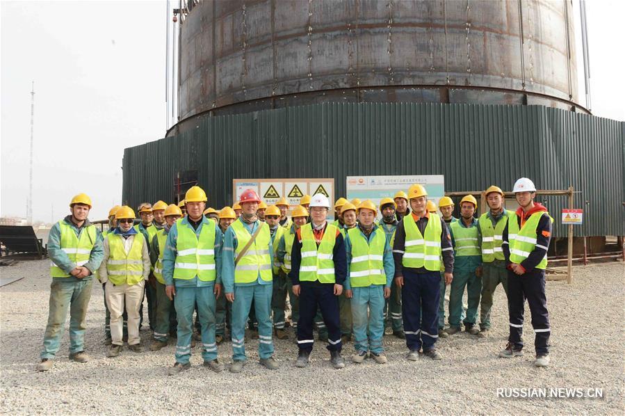 Консорциум китайских компаний строит в Узбекистане крупный комплекс по производству химической продукции