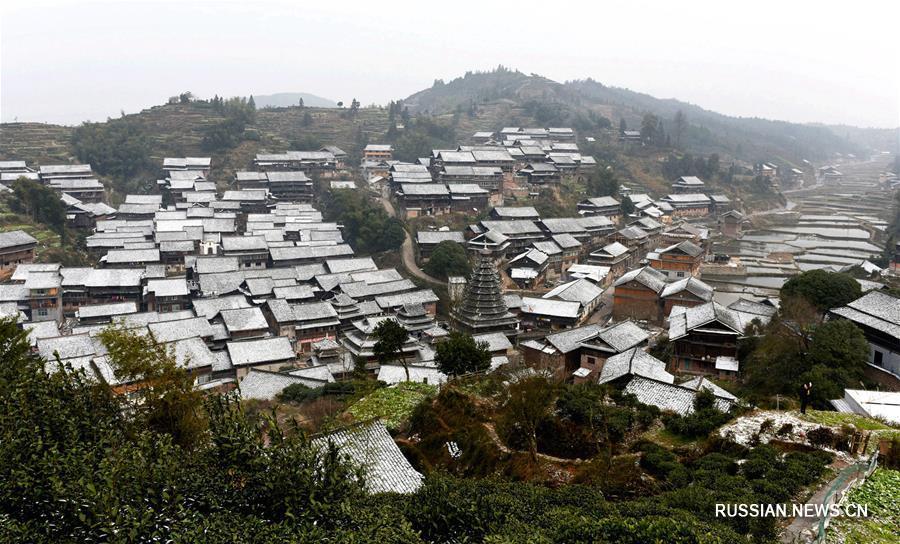 Красивые деревни Гуанси-Чжуанского автономного района