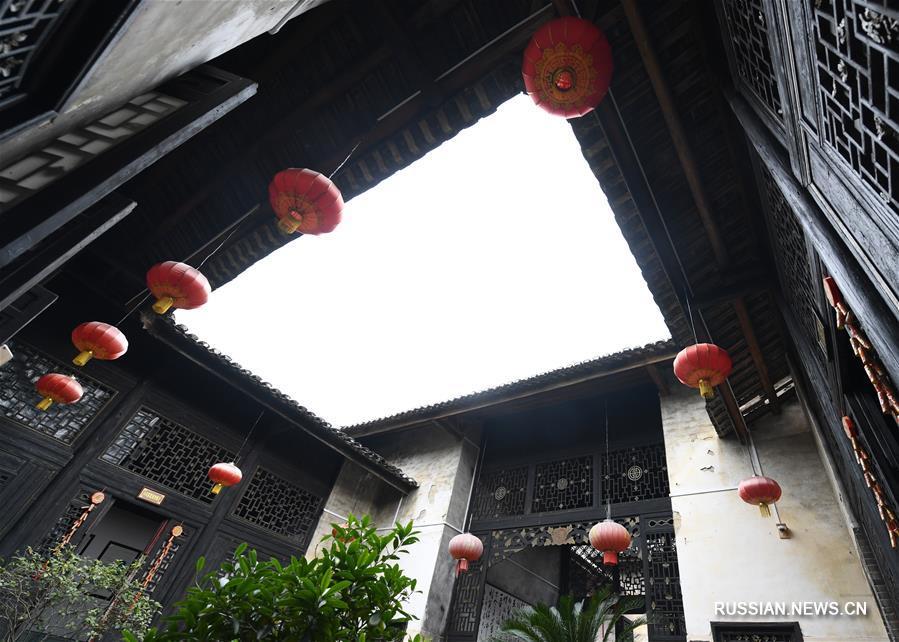 Традиционные дома народности хакка на юге Китая