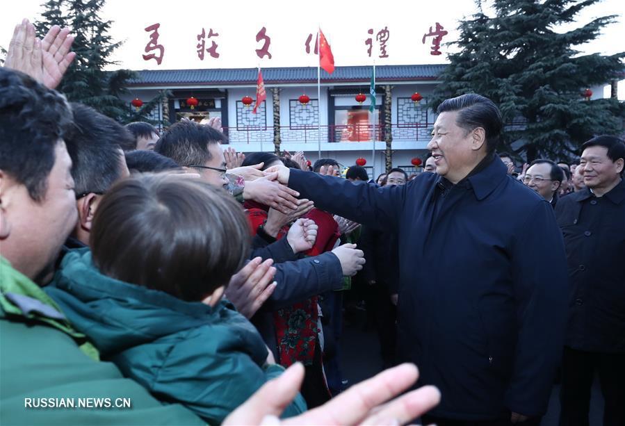 Си Цзиньпин посетил с инспекцией городской округ Сюйчжоу провинции Цзянсу