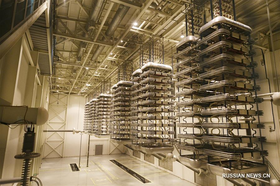 Объем электричества, поставленного потребителям по линии постоянного тока Нинся -- Шаньдун, превысил 200 млрд кВт/ч