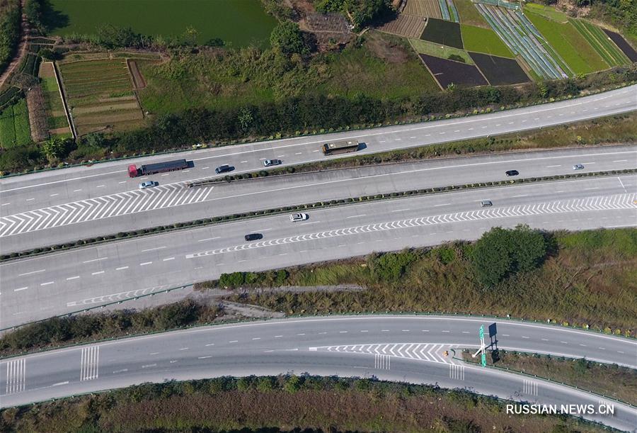 В Гуанси непрервыно расширяется транспортная инфраструктура