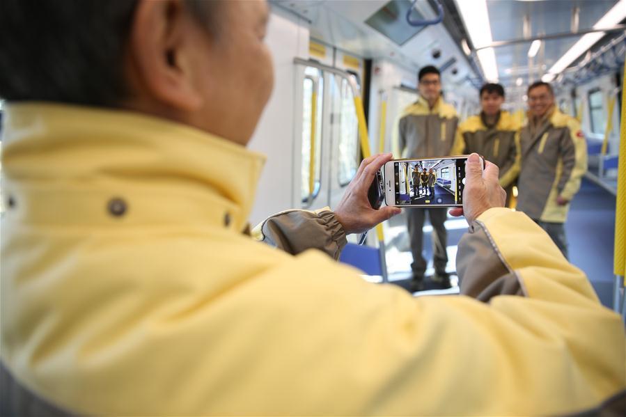 В Китае собраны первые вагоны метро, соответствующие самым высоким стандартам пожарной безопасности