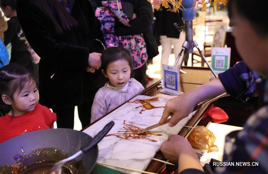 Традиционные детские забавы для юных жителей Ханьданя