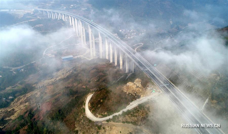 Скоростное шоссе Личуань -- Ваньчжоу готово к вводу в эксплуатацию