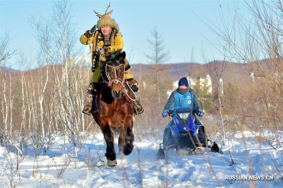 Фестиваль льда и снега в АР Внутренняя Монголия