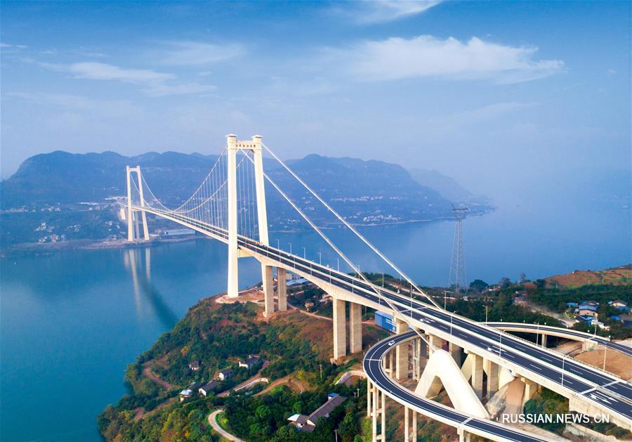 Введена в эксплуатацию автомагистраль Ваньчжоу-Личуань