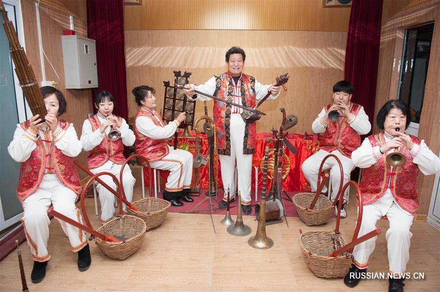 Сюмэньские чуйгэ -- инструментальная народная музыка Шицзячжуана