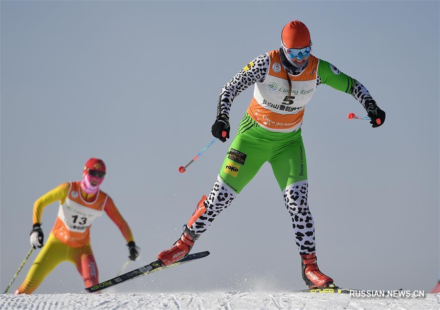 """Лыжные гонки -- Стартовал 1-й этап """"Тура Китая"""" 2018"""