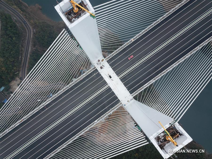 Участок Цзуньи-Гуйян скоростной автомагистрали Ланьчжоу-Хайкоу официально открыт