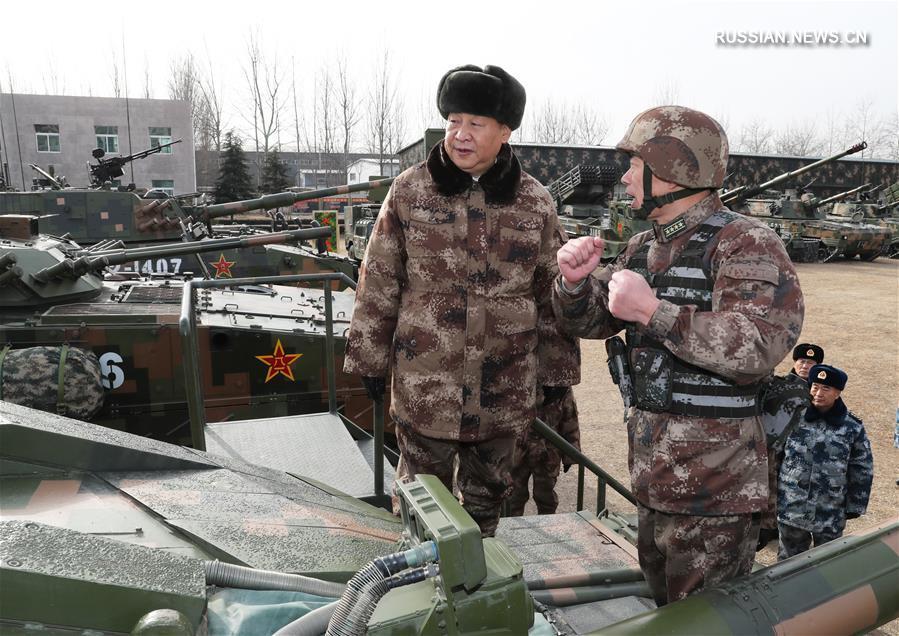 (时政)(1)习近平视察中部战区陆军某师