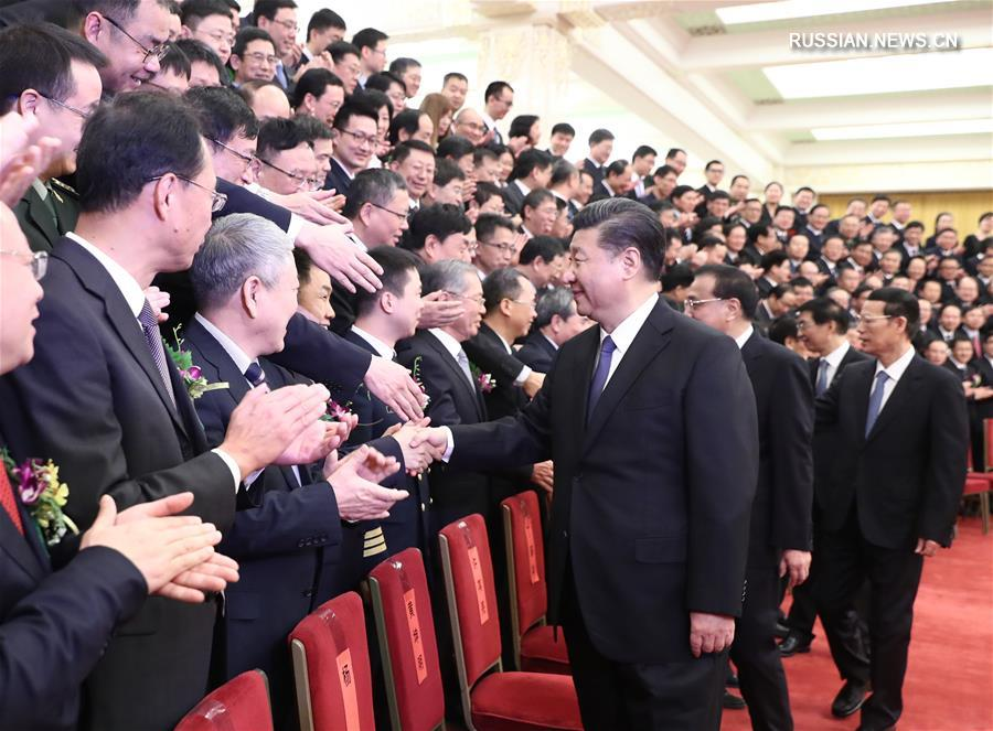 Высшие руководители Китая вручили государственные премии в области науки и техники за 2017 год