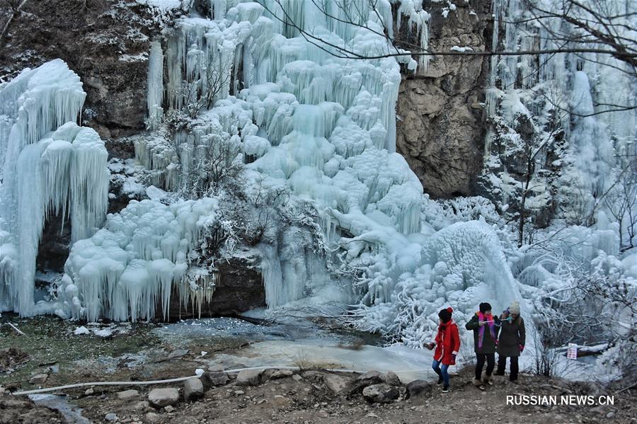 Зимний туризм в пекинском районе Яньцин