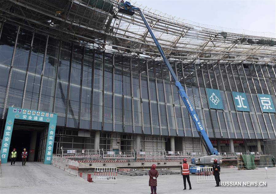 К концу 2018 года в целом завершится строительство основной инфраструктуры нового  пекинского аэропорта