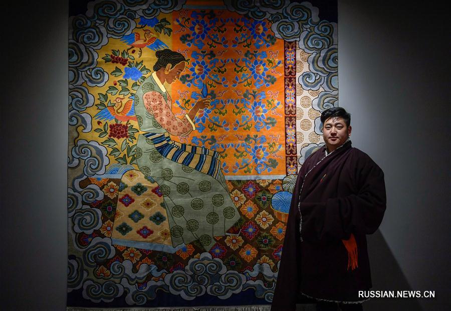 В Лхасе закрылась 2-я Ярмарка тибетских ковров