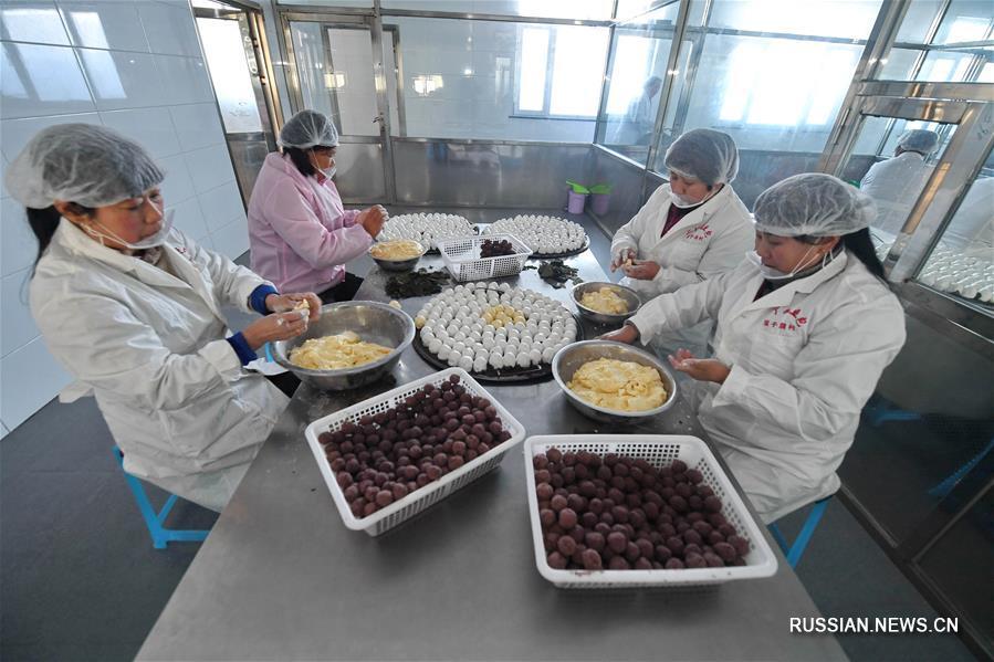 Крестьянский кооператив по производству няньдоубао в деревне Хуаньцзыдун