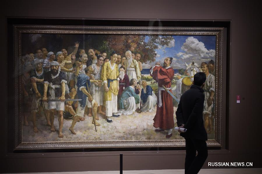 В Музее изобразительных искусств Китая открылись три новые выставки